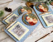 Large Handmade Santa Magnet