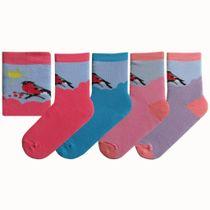 Children's socks 'Snegir' plush
