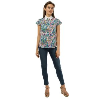 "Women's blouse ""Flora"""