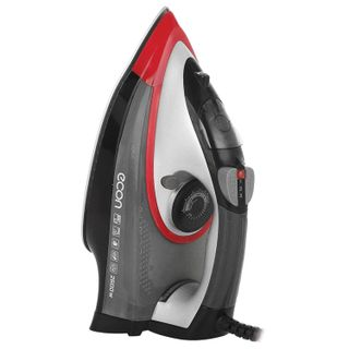 Iron ECON ECO-BI2601, 2600 watts, the ceramic surface, auto, anticaps, self-cleaning, grey