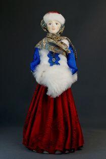 Doll gift. Siberian. Krasnoyarsk Krai. The end of the 19th century.