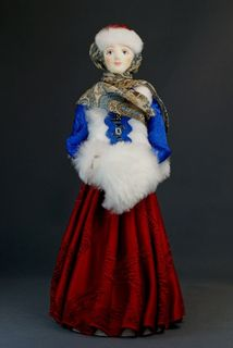 Doll gift. Siberian. Krasnoyarsk Krai. The end of the 19th century.