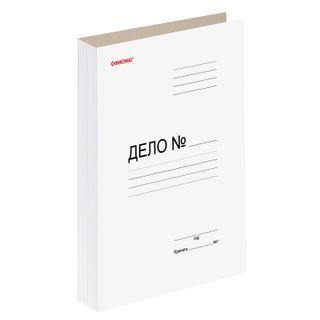 File folder cardboard coated FISMA, guaranteed density 320 g/m2, white, 200 sheets
