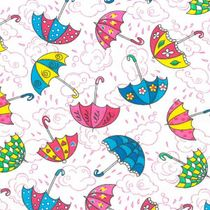 Calico printed No. 653 Umbrellas