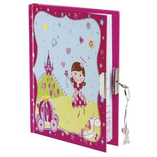 Small FORMAT Notebook (110 x150 mm) A6, 56 sheets, hardcover, metal lock, pen, line, BRAUBERG,