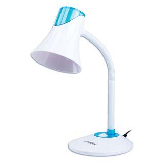 SONNEN / Table lamp OU-607, on a stand, E27 base, white / blue