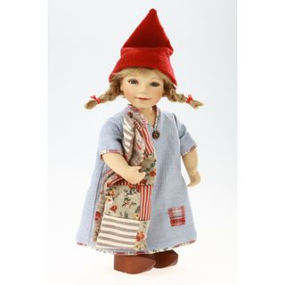 Birgitte Frigast / Porcelain doll Ida, 28 cm