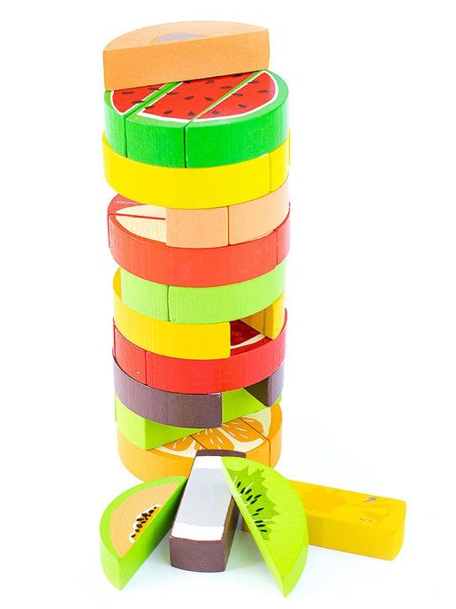 "Tomik / Logic game set ""Tower"" ""Fruits"", 30 children."