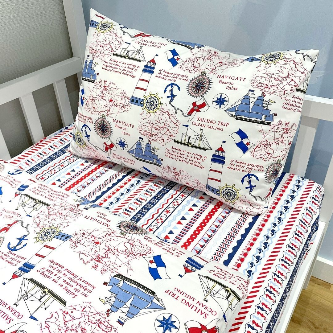 """Dreams Store / Bed set for children from 2 years old """"Marine"""""""