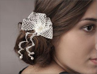Brooch lace 014-051-1