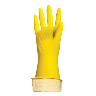 """LIMA / Latex household gloves """"Standard"""" REUSABLE, cotton dusting, size XL (very large)"""