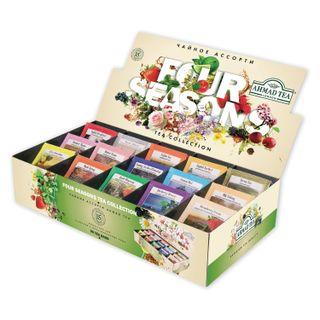 AHMAD / Four Season's Tea, 90 sachets in 1.8 g envelopes, 15 flavors