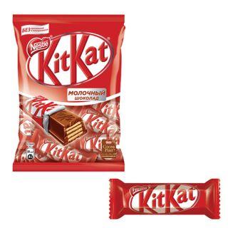 KIT KAT / Chocolate bars with milk chocolate and crispy waffle 169 g