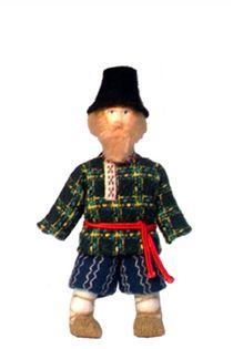 Souvenir Doll. Mens suit ANS . The Udmurts.