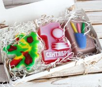 Handmade soap set Knowledge Day