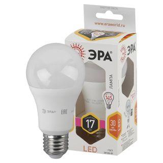 ERA / LED lamp 17 (145) W, E27 base, pear, warm white, 25000 h, smdA60-17w-827-E27