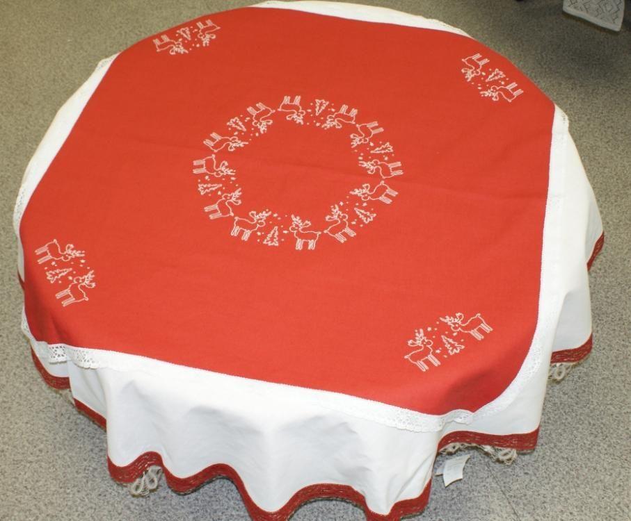"Set of table linens ""Christmas"""
