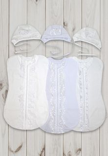 CHILDREN, SET BRIGHT (diapers with laces, hats, KULIRKA) SH13 / 22