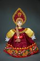 Doll gift. Russian girl in national costume. Russia. - view 1