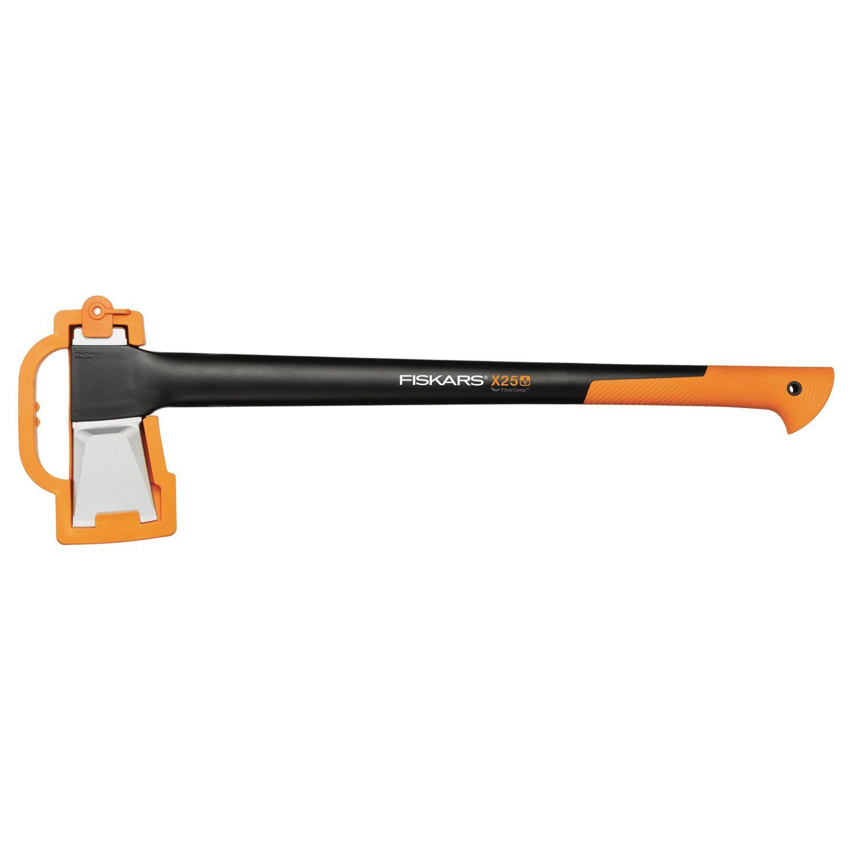 FISKARS X25-XL axe, 774 mm length, 2400g weight, FiberComp axle