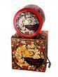 Christmas set, 3 Christmas balls, music box, Khokhloma painting - view 3