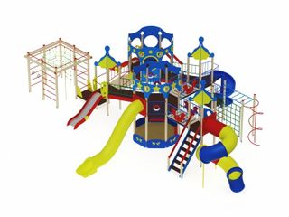 Children's play complex for children from 7-12 years