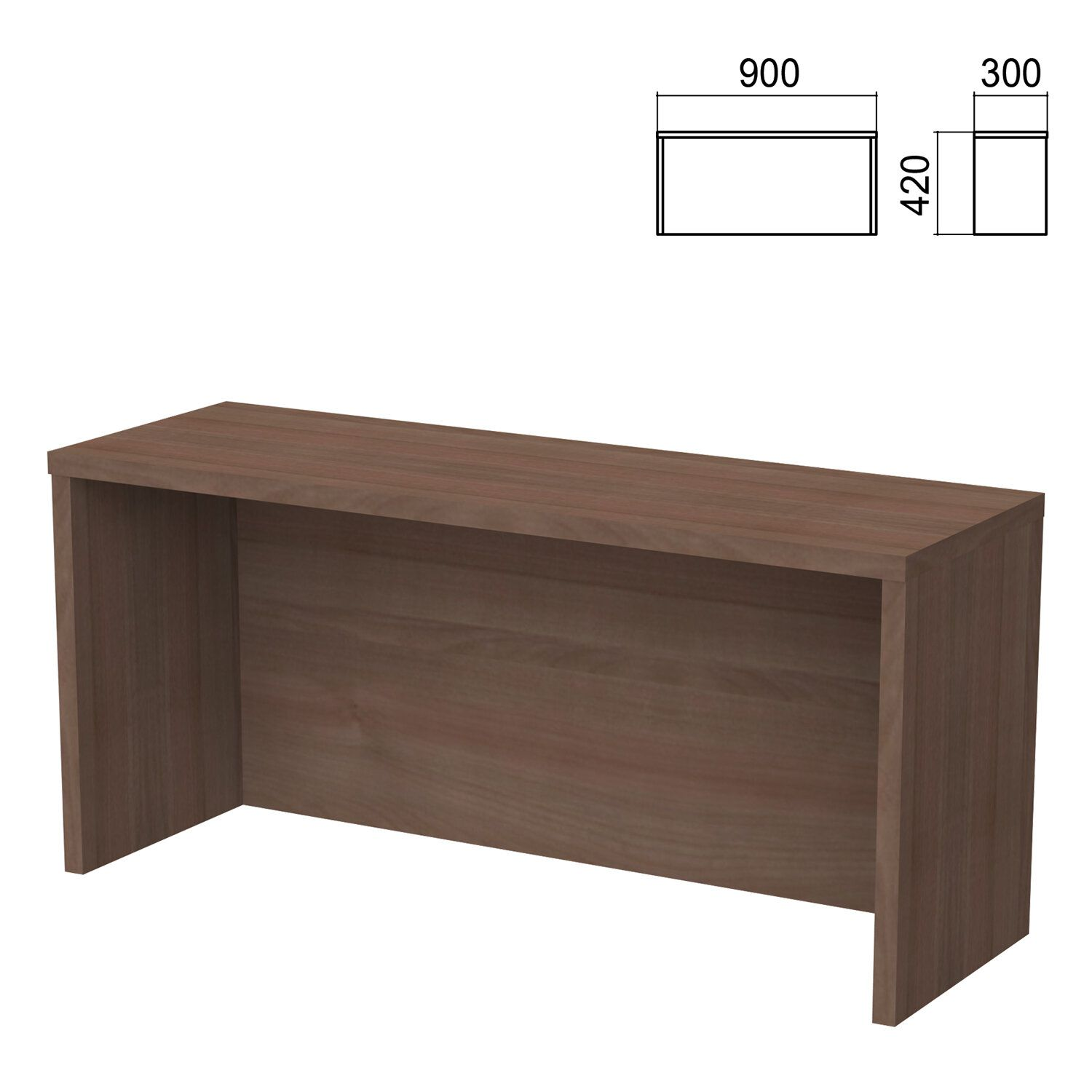 Argo table add-on, 900 mm wide, garbo