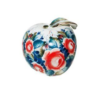 Sculpture Apple paint 1st grade, Gzhel Porcelain factory