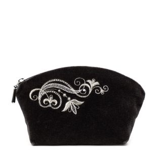 "Velvet Cosmetic Bag ""Music of the Wind"""