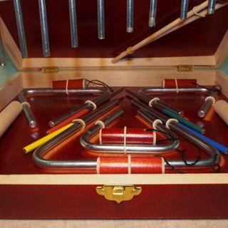 Профессиональный комплект музыкальных инструментов из металла «Звоны чудные»