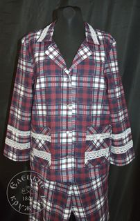 Pajamas womens flannel С11736