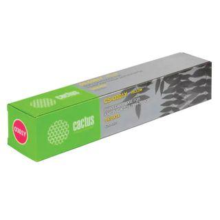 Toner cartridge CACTUS (CS-O301Y) for OKI C301 / 321, yellow, resource 1500 pages.