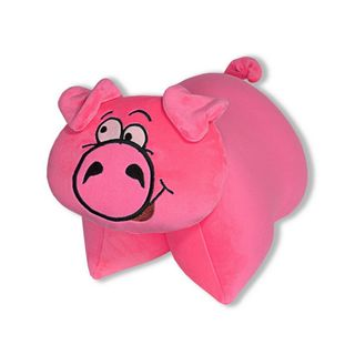"Anti-stress pillow and toy ""transformers"" 1(piggy)"