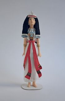 Doll gift. Princess 15-14 centuries BC, Egypt