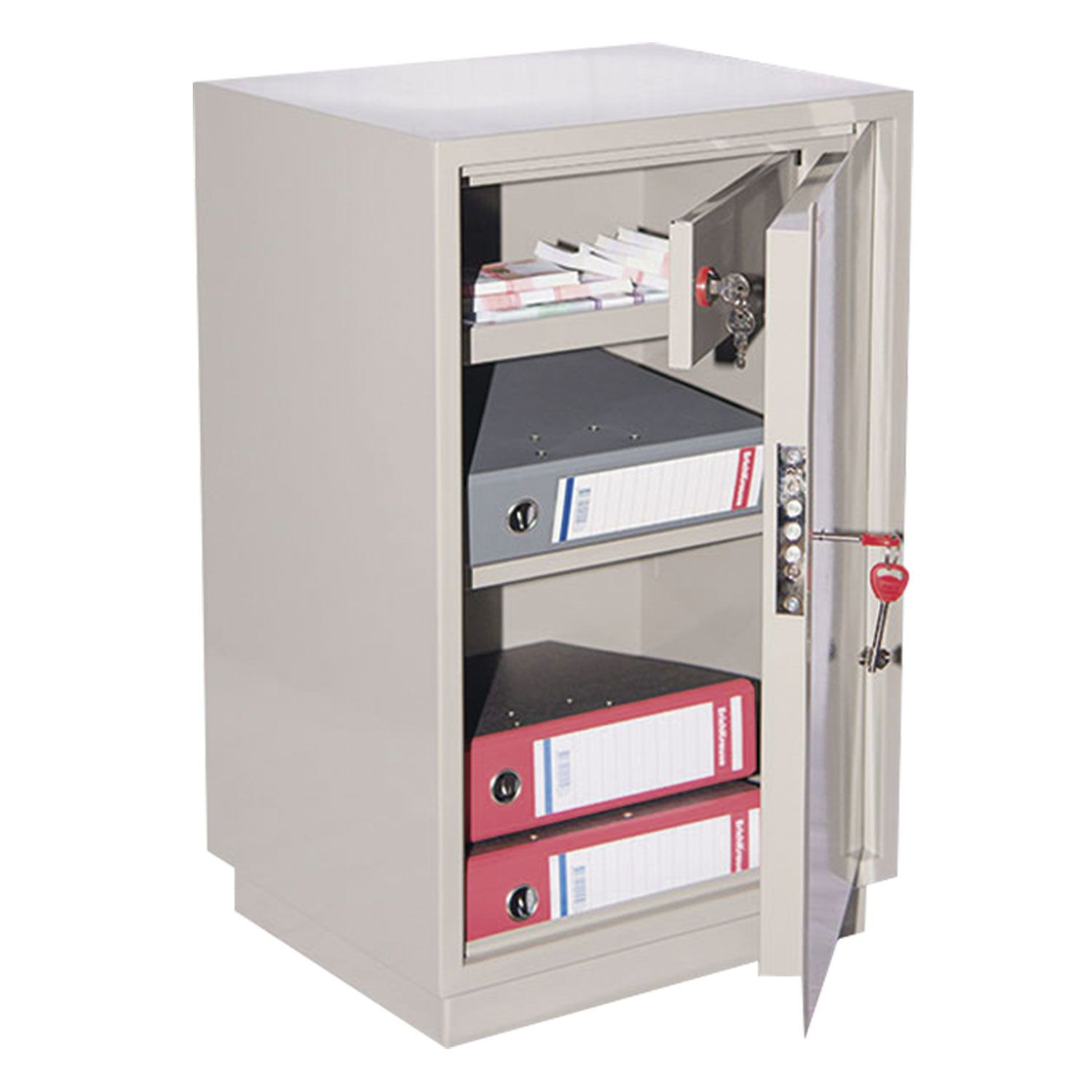 Cabinet metal for documents KBS-011T, 660 x420 x350 mm, 19 kg, welded