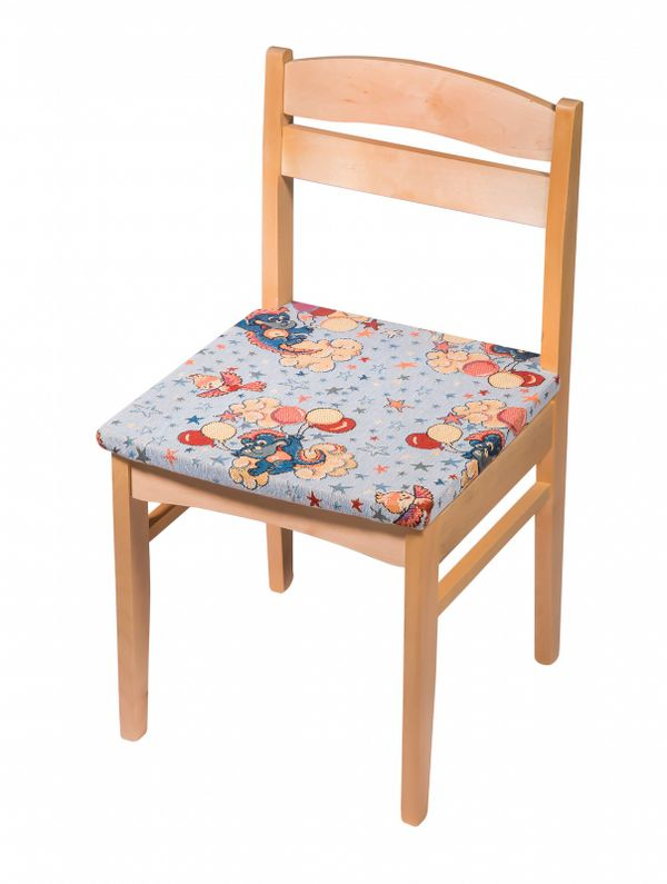 "Chair wooden child's ""Baby"" with fabric, leftover from category 3"