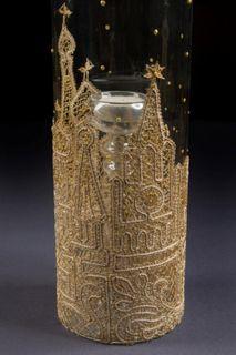 Vase-candle holder