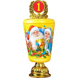 """New Year's gift """"Cup"""", a set of chocolates 600g."""