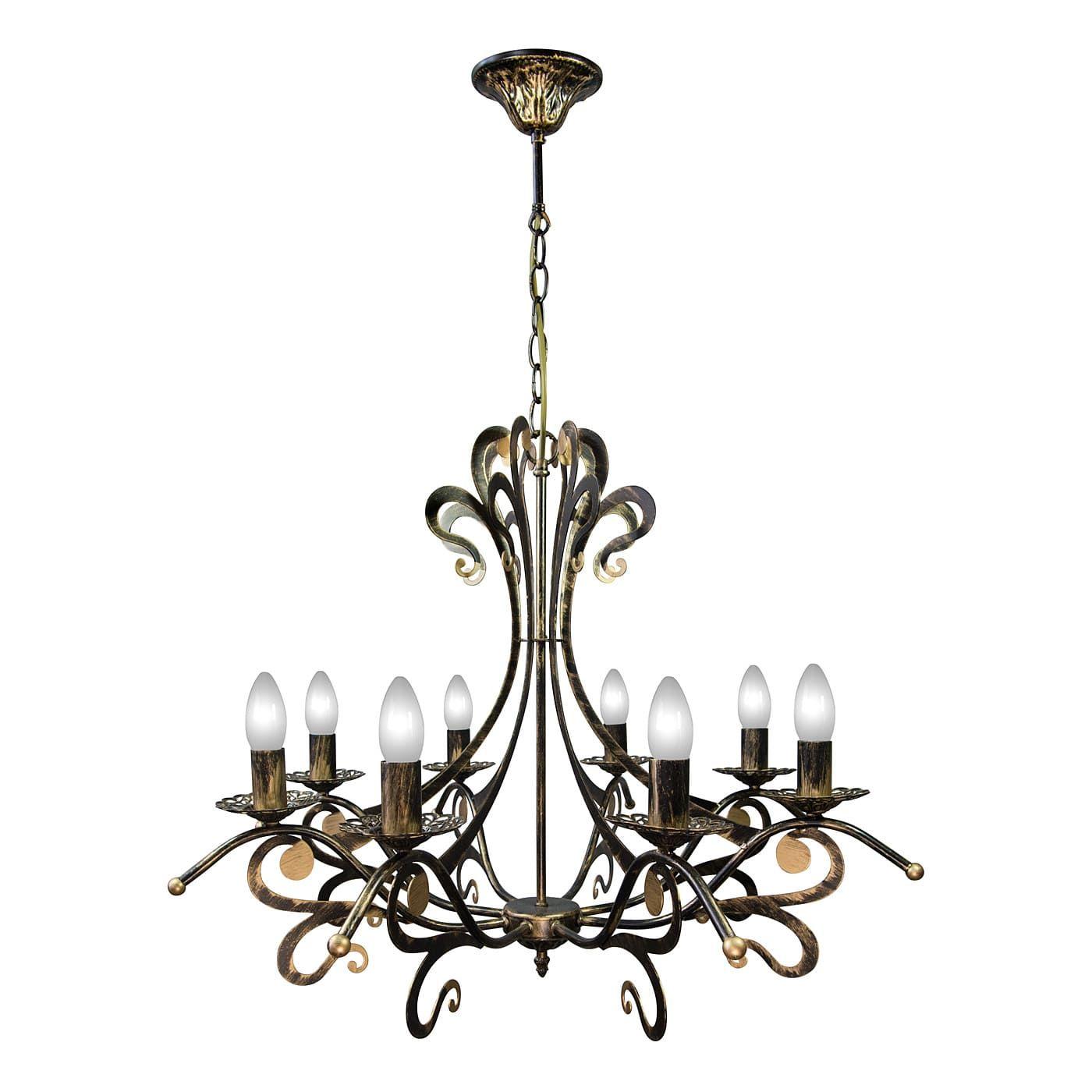 PETRASVET / Pendant chandelier S3123-8, 8xE14 max. 60 watts