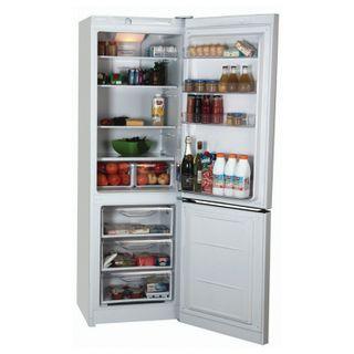 INDESIT DF4180W fridge, 298 litres total, bottom freezer 75 litres, 60 x64 x185cm, white