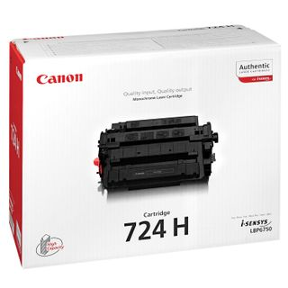 Laser cartridge CANON (724H) i-SENSYS MF512X / MF515X, yield 12,500 pages, original