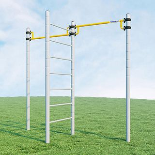 Children's sports complex: the horizontal bar Workout for holiday homes and villas ROMANA