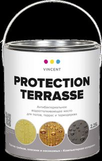 Protection Terrasse - antibacterial water-repellent oil for floors, terraces and thermal trees