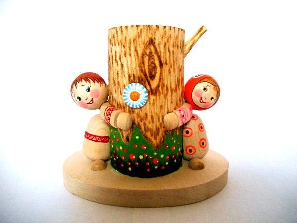 """Tver souvenirs / Pencil holder """"Fun"""""""