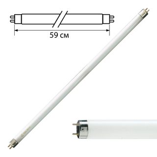 PHILIPS / Fluorescent lamp TL-D 18W / 54-765, 18 W, cap G13, in the form of a tube 59 cm, cold daylight