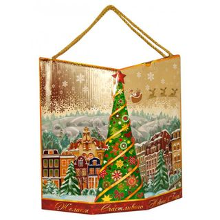 """New Year's gift """"Kremlin Christmas tree"""", a set of sweets 1500g."""
