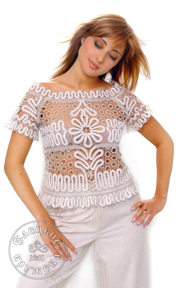 Yelets lace / Women's lace blouse С1865
