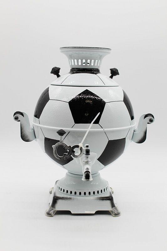 "Dulevo porcelain / Electric samovar 5 l. ""Football"""