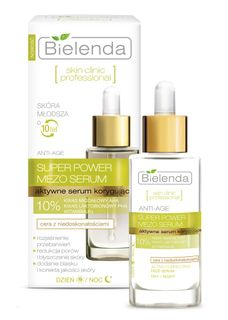 Serum for the face with almond and lactobionic acid, SKIN CLINIC PROFESSIONAL-BIELENDA, 30ml