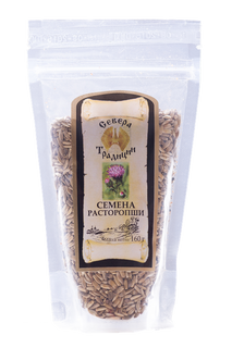 """Milk thistle seeds """"Traditions of the North"""", 160 g."""